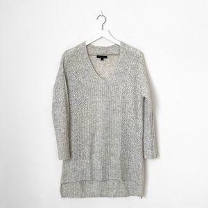 Banana Republic Merino Wool Lace Stitch Sweater